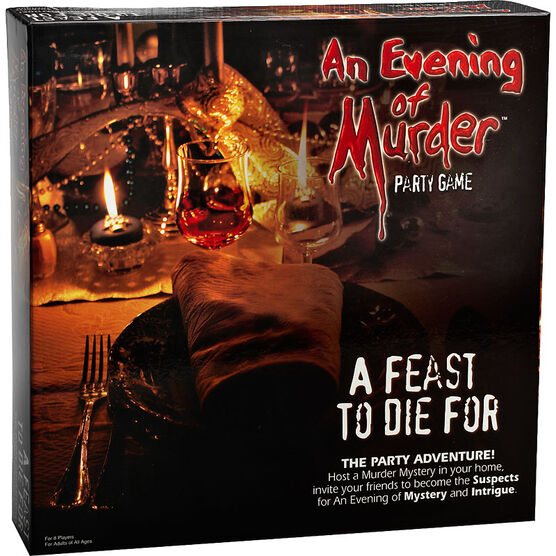 An Evening of Murder Party Game - Assorted