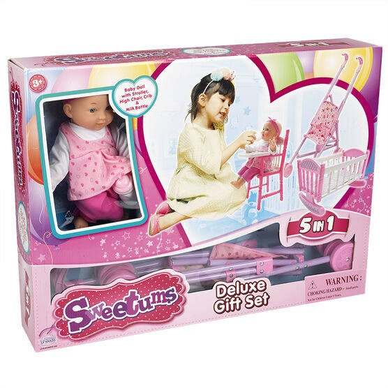 Sweetums Doll with Deluxe Gift Set