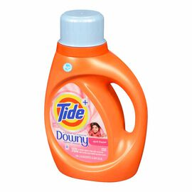 Tide HE Liquid Laundry Detergent with Downy - April Fresh - 1.36L/24 use