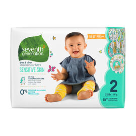 7th Generation Diapers - Stage 2 - 36's