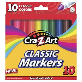 Cra-Z-Art Classic Markers - 10's