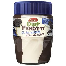 Penotti Duo Penotti Spread - Cookies & Milk - 350g
