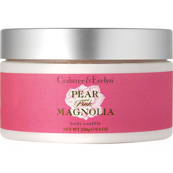 Crabtree & Evelyn Pear & Pink Magnolia Body Souffle - 250ml