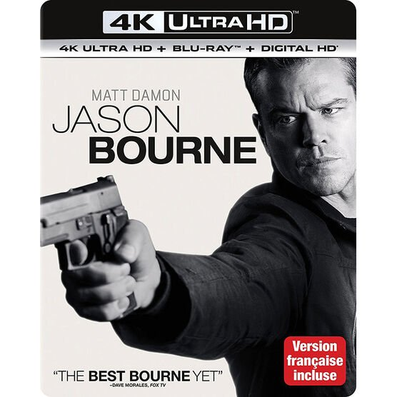 Jason Bourne - 4K UHD Blu-ray
