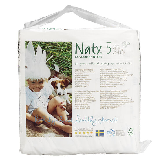 Nature Babycare Diapers - Size 5 - 23's
