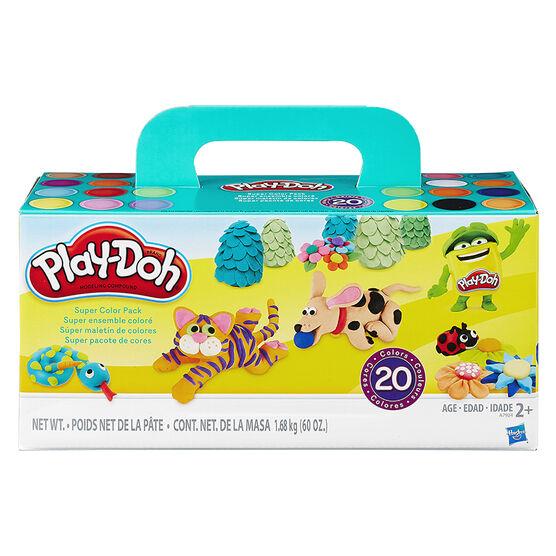 Play Doh Super Colour Pack - 20 Piece