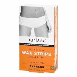 Parissa Wax Strips - Face & Bikini - 16's