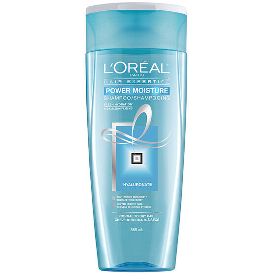L'Oreal Power Moisture Shampoo - 385ml