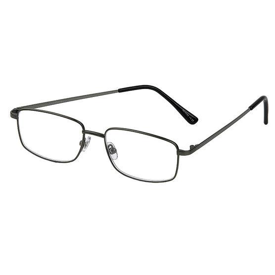 Foster Grant T10 Reading Glasses - Gunmetal - 2.50