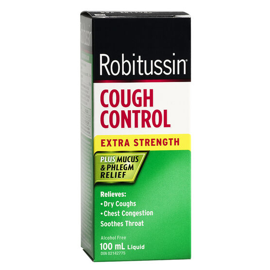 Robitussin Cough Contol DM Extra Strength - 100ml
