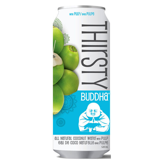 Thirsty Buddha Water - Coconut with Pulp - 520ml
