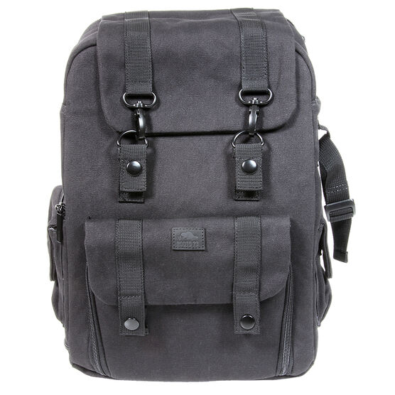 Roots 73 Flannel Collection Backpack - Black - RB30