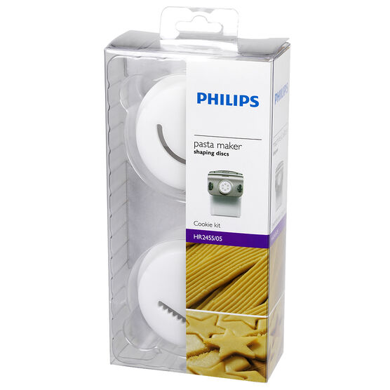 Philips Pasta Maker Cookie Kit Attachment - HR2455/05