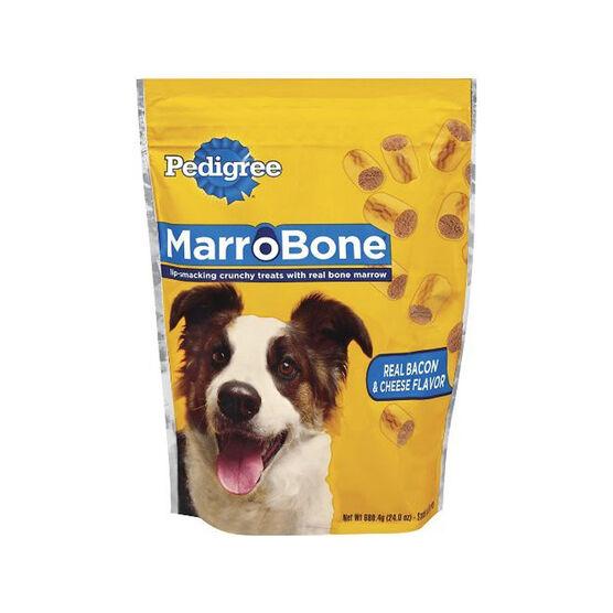 Pedigree Marrobone Dog Treats - Bacon Cheese Burger - 680g