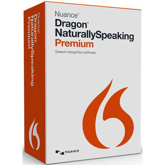Dragon NaturallySpeaking 13 - Premium Edition for Windows