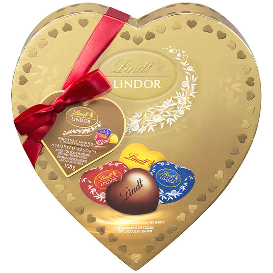 Lindor Amour Heart - Assorted - 108g