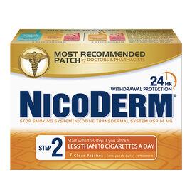 Nicoderm Clear Step 2 - 14mg - 7's
