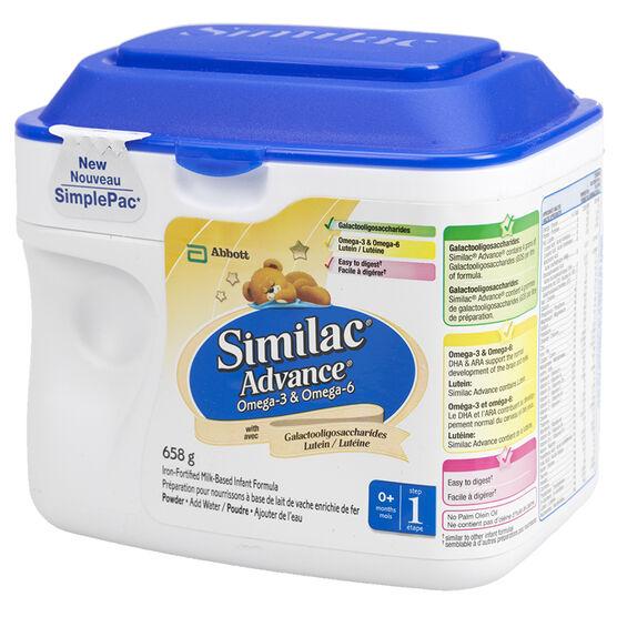 How to prepare similac advance