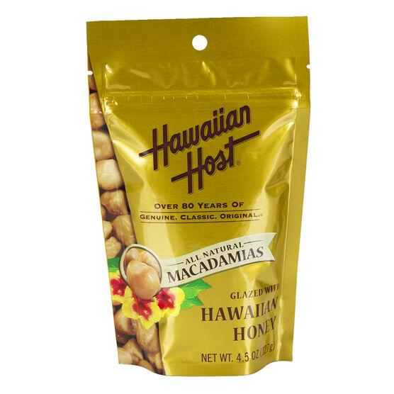 Hawaiian Host Macadamias - Honey Glazed - 127g