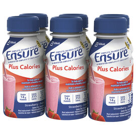Ensure Plus Calories - Strawberry - 6 x 235ml