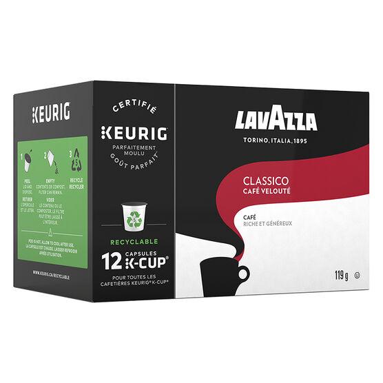 Lavazza K-Cup Classico - Medium Roast - 12 pack