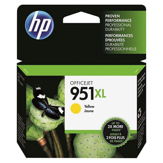 HP 951XL High Yield Officejet Ink Cartridge -  Yellow- CN048AN#140
