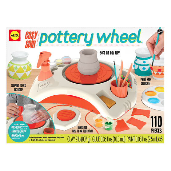Alex Artist Studio Easy Spin Pottery