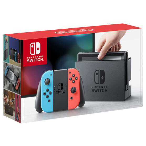 Nintendo Switch - Neon Blue and Neon Red