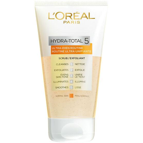 L'Oreal Hydra-Total 5 Ultra-Even Routine Scrub - 150ml