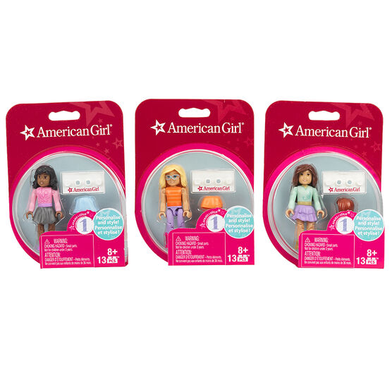 Mega Bloks American Girl Collectable Figure - Assorted - DRC65