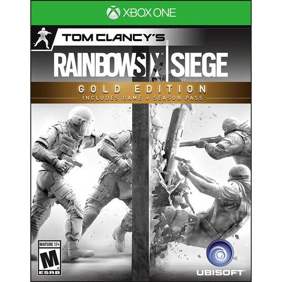 Xbox One Rainbow Six Siege - Gold Edition
