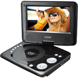 """Sylvania 7"""" Swivel Screen Portable DVD Player - SDVD7073"""