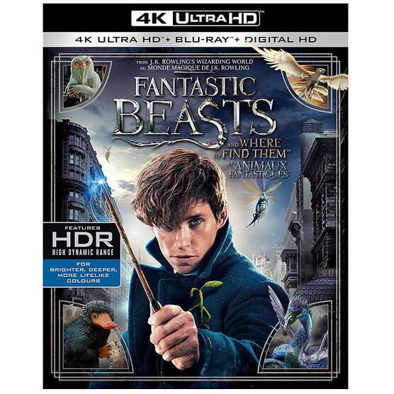 Fantastic Beasts and Where to Find Them - 4K UHD Blu-ray