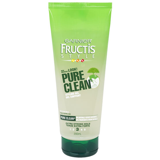 Garnier Fructis Style Pure Clean Styling Gel - 200ml