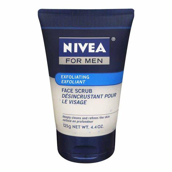 Nivea for Men Exfoliating Face Scrub - 125g