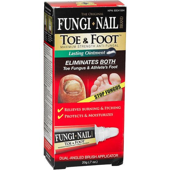 Fungi Nail Toe & Foot Ointment - Maximum Strength - 20g