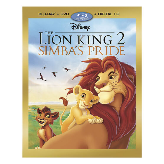 The Lion King 2: Simba's Pride - Blu-ray