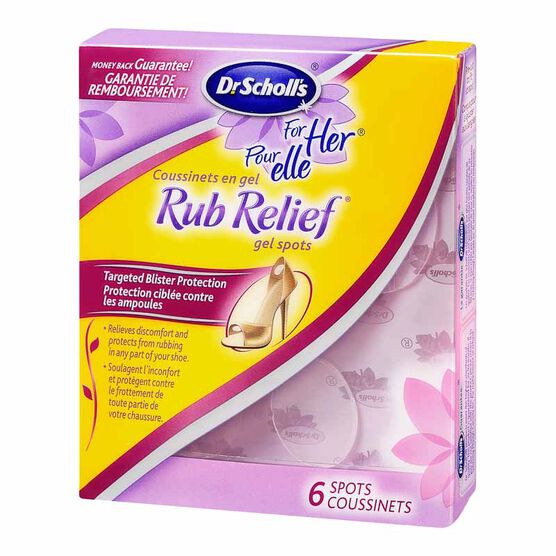Dr. Scholl's For Her Rub Relief Gel Spots - 6's