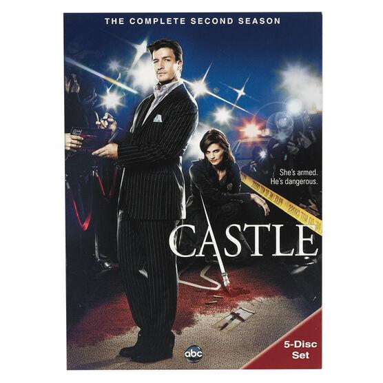Castle: The Complete Second Season - DVD
