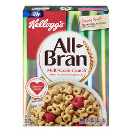 Kellogg's All Bran Multigrain Crunch Cereal - 305g