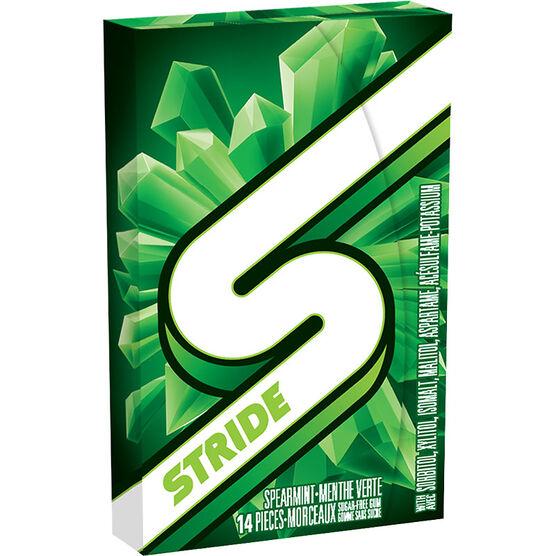Stride Gum - Spearmint - 14 piece