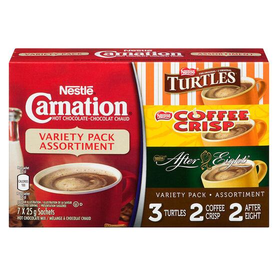 Nestle Carnation Variety Pack - 7x25g
