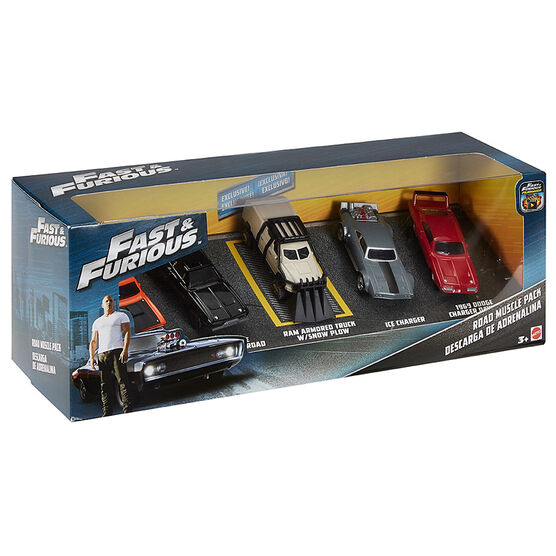 Fast and The Furious Vehicle - 5 pack