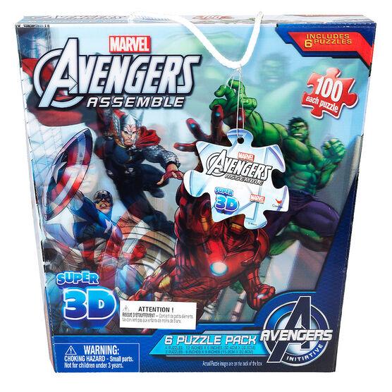 Super 3D Puzzles - Assorted
