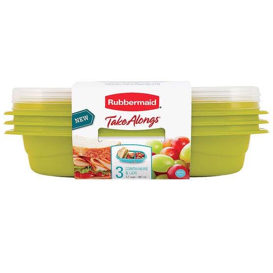 Rubbermaid TakeAlongs Snack Go - 3.7 cup