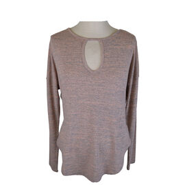Lava Long Sleeve top with Front Keyhole Design