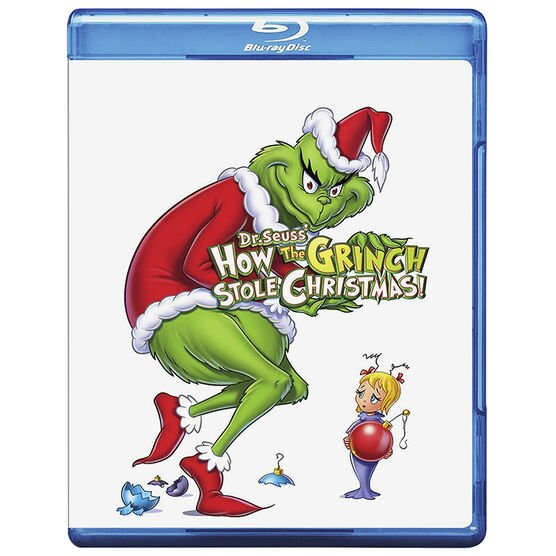 Dr. Seuss' How The Grinch Stole Christmas (2000) - Blu-ray