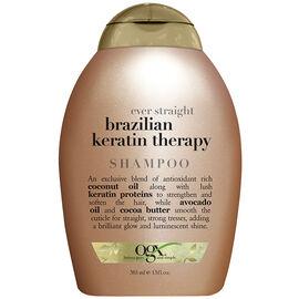 OGX Ever Straight Brazilian Keratin Therapy Shampoo - 385ml