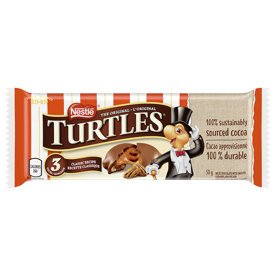 Nestle Turtles Bar - 50g/3 pieces