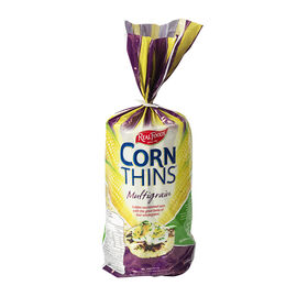Real Foods Corn Thins - Multigrain - 150g